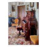 Órgano en sala del Victorian Tarjeta De Felicitación