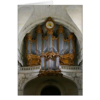 Órgano en St Roch, París Tarjeta Pequeña