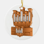 Órgano, gráfico Brown del órgano de la iglesia Ornamente De Reyes