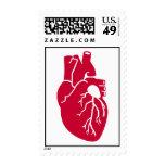 Órgano rojo del corazón envio