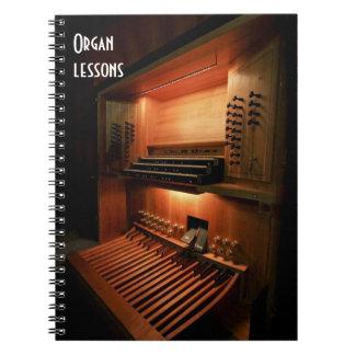 Órgano Spiral Notebook