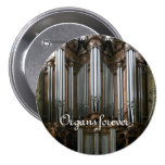 ¡Órganos para siempre! Botón del St Eustache Pin