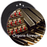 Organs forever! button