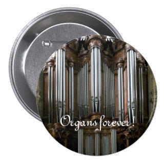 Organs forever! St Eustache button