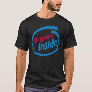 Organs Inside T-Shirt