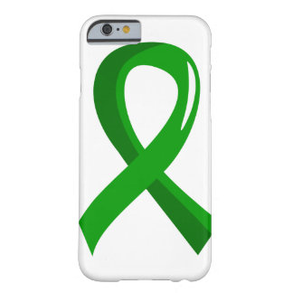 Organspende-grünes Band 3 Barely There iPhone 6 Case