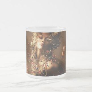 Orgasme Frosted Glass Coffee Mug