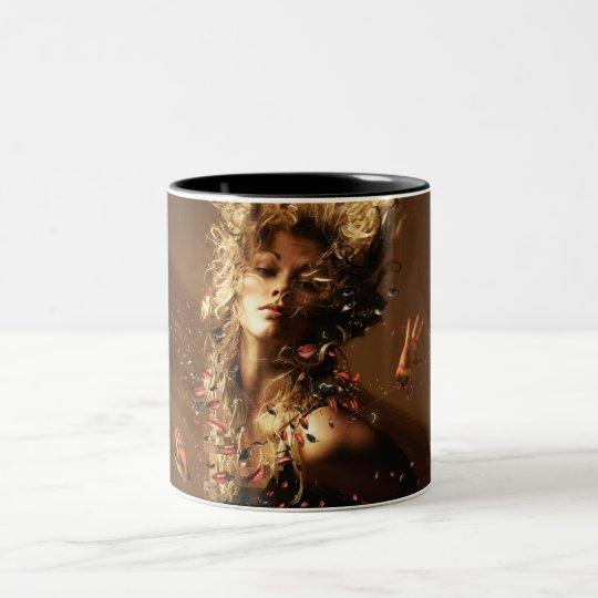 Orgasme Two-Tone Coffee Mug