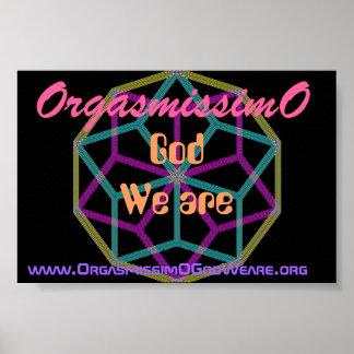 OrgasmissimO Cristal Star Poster