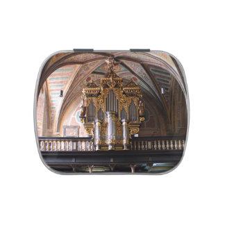 Orgel Pfarrkirche St.Wolfgang am Wolfgangsee Candy Tins
