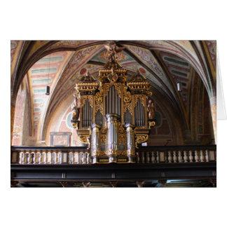 Orgel Pfarrkirche St.Wolfgang am Wolfgangsee Card