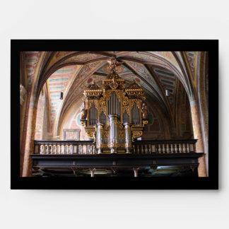 Orgel Pfarrkirche St.Wolfgang am Wolfgangsee Envelope