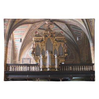 Orgel Pfarrkirche St.Wolfgang am Wolfgangsee Placemat