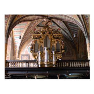 Orgel Pfarrkirche St.Wolfgang am Wolfgangsee Postcard