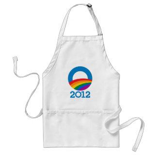 Orgullo 2012 de Obama Delantal