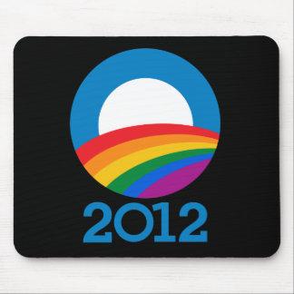 Orgullo 2012 de Obama Alfombrillas De Raton