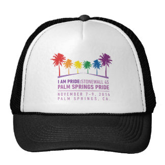 Orgullo 2014 del Palm Springs Gorras De Camionero