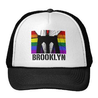 Orgullo 3 de la silueta del puente de Brooklyn Gorro