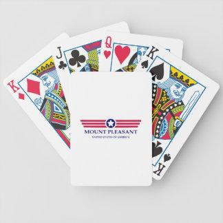 Orgullo agradable del soporte cartas de juego