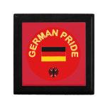 Orgullo alemán cajas de joyas