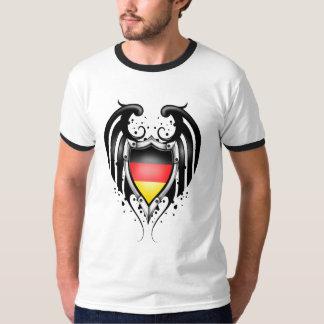 Orgullo alemán camisas