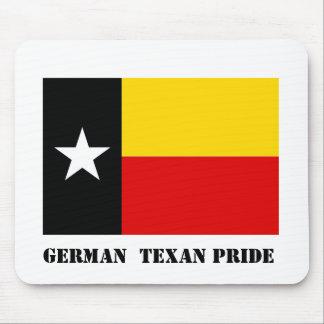 Orgullo alemán Mousepad del Texan