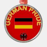 Orgullo alemán ornamento para arbol de navidad