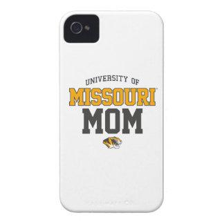 Orgullo amarillo negro de la familia de Mizzou iPhone 4 Case-Mate Carcasas