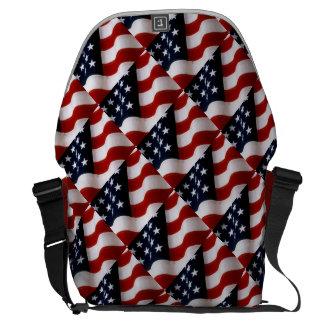 Orgullo americano bolsa de mensajeria