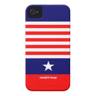 Orgullo americano Case-Mate iPhone 4 coberturas