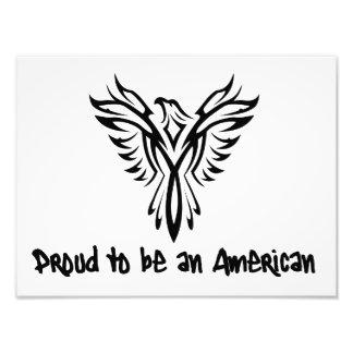Orgullo americano de moda cojinete