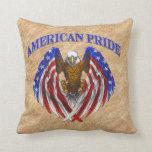 Orgullo americano Eagle Almohada