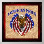 Orgullo americano Eagle Poster