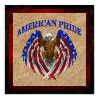 Orgullo americano Eagle Póster
