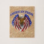 Orgullo americano Eagle Puzzles
