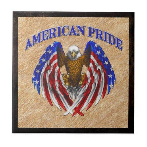Orgullo americano Eagle Teja Cerámica