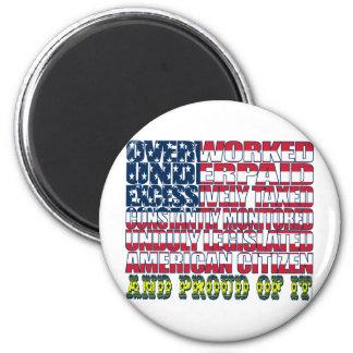 Orgullo americano imán de frigorifico