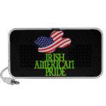 Orgullo americano irlandés altavoces de viajar