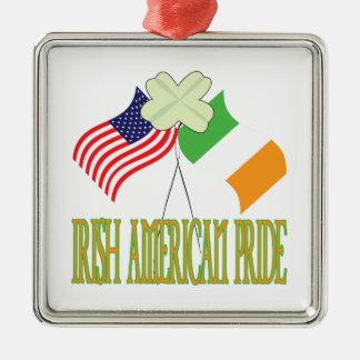 Orgullo americano irlandés adorno para reyes