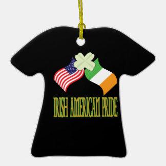 Orgullo americano irlandés ornamentos de reyes