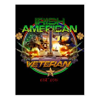 Orgullo americano irlandés del veterano postal