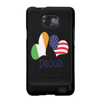 Orgullo americano irlandés galaxy s2 carcasas