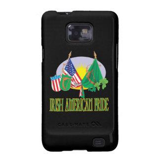 Orgullo americano irlandés galaxy s2 fundas