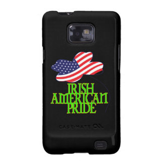 Orgullo americano irlandés samsung galaxy SII carcasas