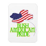 Orgullo americano irlandés iman flexible
