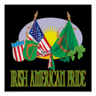 Orgullo americano irlandés posters