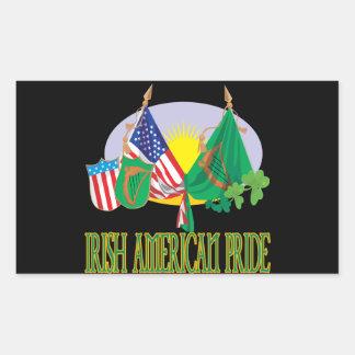 Orgullo americano irlandés rectangular altavoces