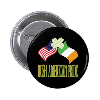Orgullo americano irlandés pin