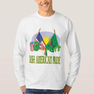 Orgullo americano irlandés playera