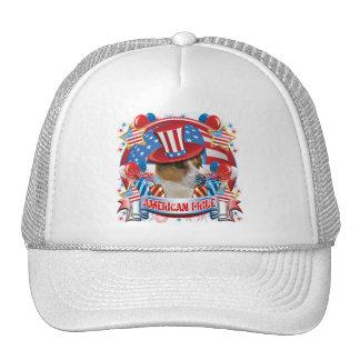 Orgullo americano Jack Russell Gorro